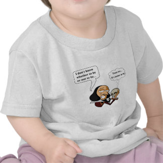 Shakespeare Hamlet, ser o no ser Camisetas