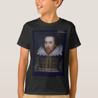 """Shakespeare """"Heavenly Love"""" Quote Gifts & Cards T-Shirt"""