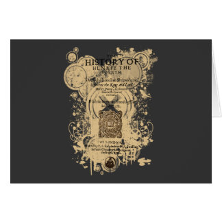 Shakespeare Henry IV Part I Quarto Front Piece Card