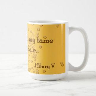 Shakespeare Henry V Beer / Ale / Coffee Mug