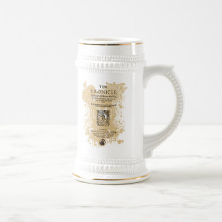 Shakespeare Henry V Quarto Front Piece 18 Oz Beer Stein