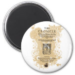 Shakespeare Henry V Quarto Front Piece 2 Inch Round Magnet