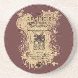 Shakespeare Henry V Quarto Front Piece Coaster