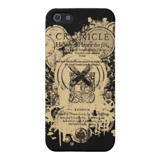 Shakespeare Henry V Quarto Front Piece iPhone 5/5S Cover