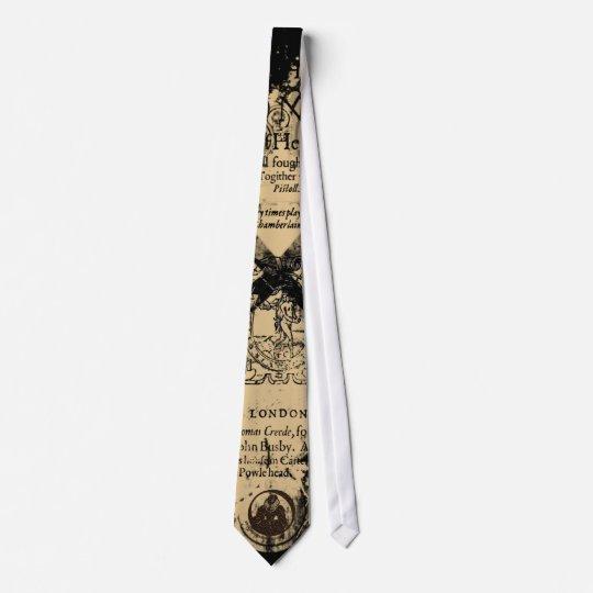 Shakespeare Henry V Quarto Front Piece Tie