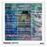 Shakespeare humorous Insult quotes Wall Graphics