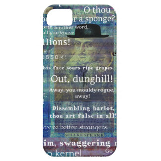 Shakespeare humorous Insults iPhone 5 Cases