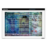 Shakespeare humorous Insults Laptop Decals