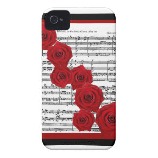 SHAKESPEARE - IF MUSIC BE THE FOOD OF LOVE PLAY ON iPhone 4 Case-Mate CASE