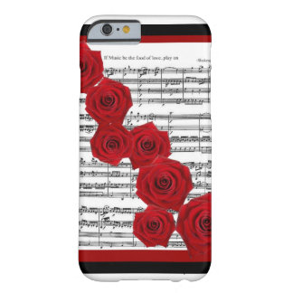 SHAKESPEARE - IF MUSIC BE THE FOOD OF LOVE PLAY ON iPhone 6 CASE