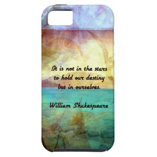 Shakespeare Inspirational Quote About Destiny iPhone SE/5/5s Case