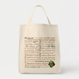 Shakespeare insulta la colección bolsa tela para la compra