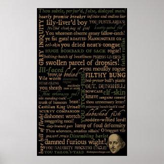 Shakespeare insulta la colección impresiones