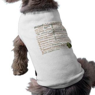 Shakespeare insulta la colección camisetas mascota