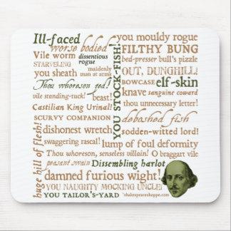 Shakespeare insulta la colección tapetes de ratón