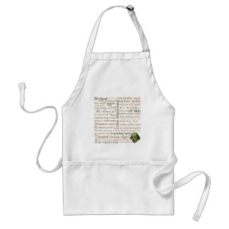 Shakespeare Insults Collection Adult Apron