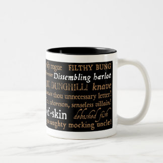 Shakespeare Insults Collection Coffee Mug