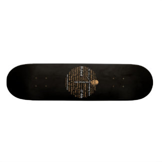 Shakespeare Insults Collection Skateboard