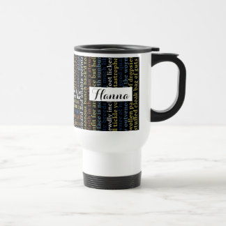 Shakespeare Insults Personalized Travel Mug