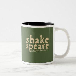 Shakespeare - it's an Elizabethan thing Two-Tone Coffee Mug