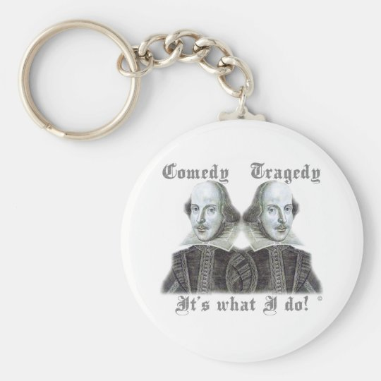 Shakespeare - It's what I do! Keychain