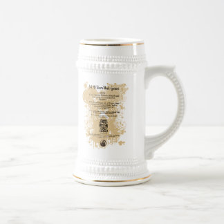 Shakespeare King Lear Quarto Front Piece 18 Oz Beer Stein