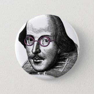 Shakespeare Lennon Button