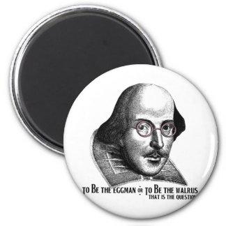 Shakespeare Lennon II 2 Inch Round Magnet