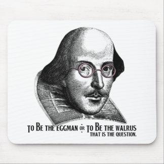 Shakespeare Lennon II Alfombrillas De Ratón