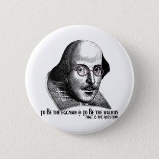 Shakespeare Lennon II Button
