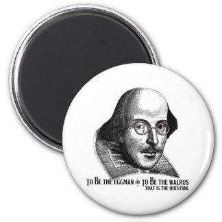 Shakespeare Lennon II Imán Redondo 5 Cm