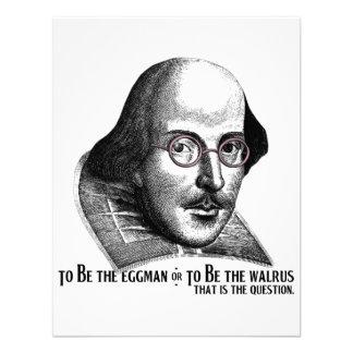 Shakespeare Lennon II Comunicados Personalizados