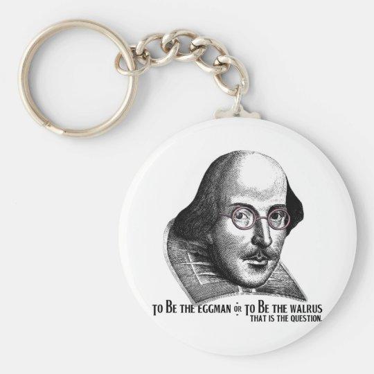 Shakespeare Lennon II Keychain