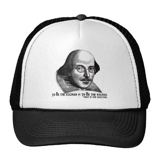 Shakespeare Lennon II Trucker Hat
