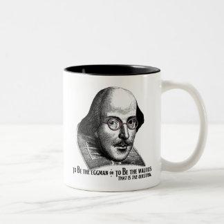 Shakespeare Lennon II Two-Tone Coffee Mug