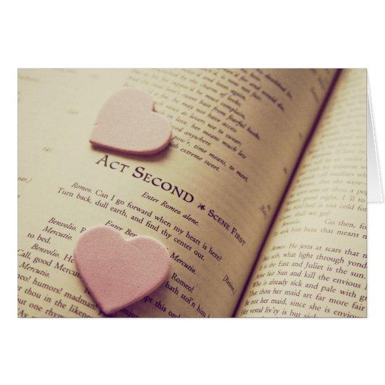 shakespeare love card