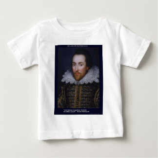 Shakespeare Love/Endless Quote Gifts Cards Etc Baby T-Shirt