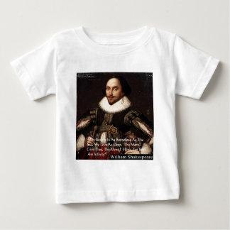 "Shakespeare ""Love Infinite"" Love Quote Gifts & Tee"