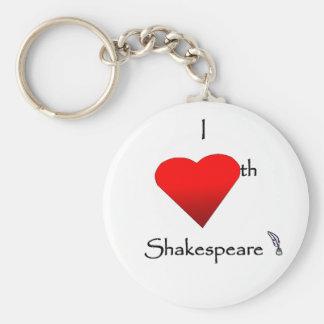 Shakespeare Love Keychain