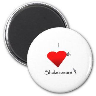 Shakespeare Love Magnet
