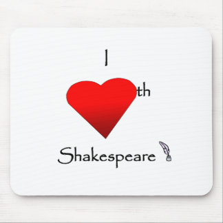 Shakespeare Love Mouse Pad