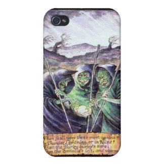 Shakespeare Macbeth Witches  Cover For iPhone 4