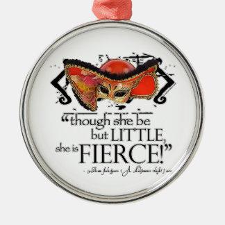 Shakespeare Midsummer Night s Dream Fierce Quote Christmas Tree Ornament