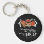 Shakespeare Midsummer Night's Dream Fierce Quote Basic Round Button Keychain
