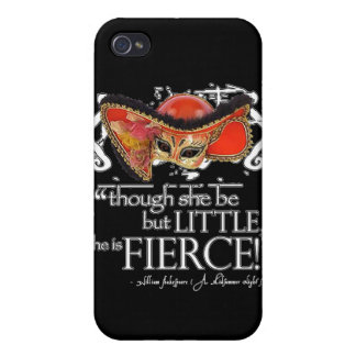 Shakespeare Midsummer Night's Dream Fierce Quote iPhone 4/4S Cover