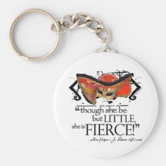 Shakespeare Midsummer Night's Dream Fierce Quote Keychain