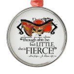 Shakespeare Midsummer Night's Dream Fierce Quote Metal Ornament