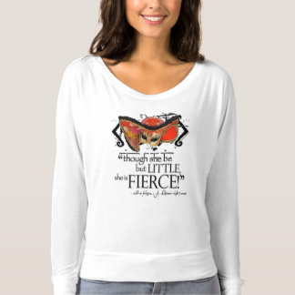 Shakespeare Midsummer Night's Dream Fierce Quote T-shirt
