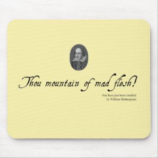 Shakespeare Mousepad #2. Unusual gift.