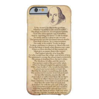 Shakespeare on your iPhone - Hamlet Barely There iPhone 6 Case
